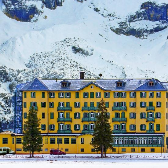 Hotel in the alps